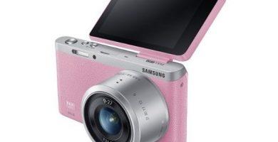 Cámaras de foto rosa