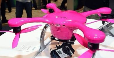 Drones rosa