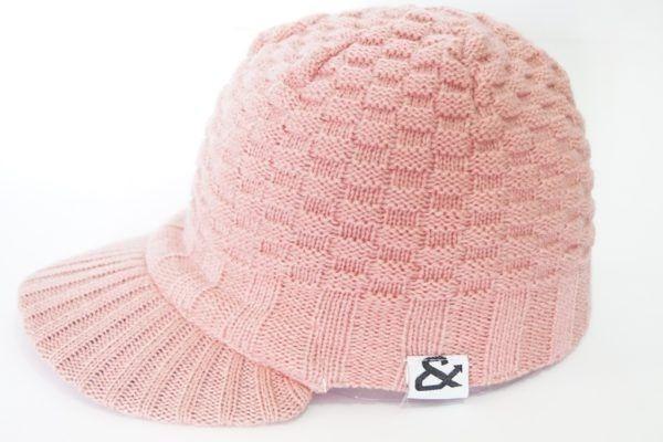 Gorros y gorras rosa