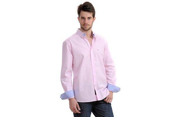 camisas rosa