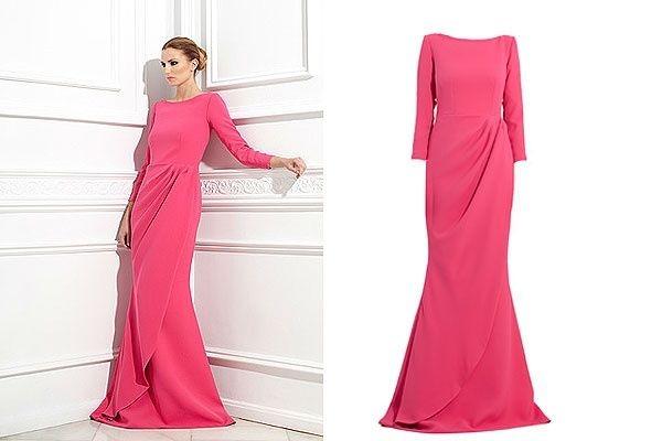 vestidos rosa
